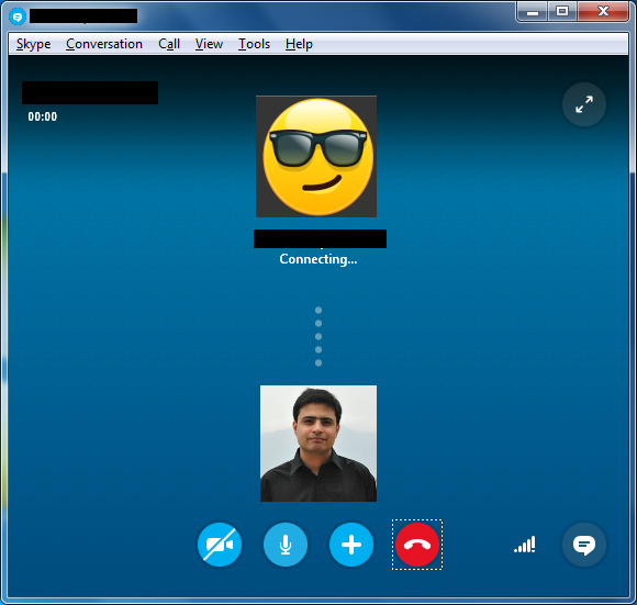 Call to play the Skype mystery game