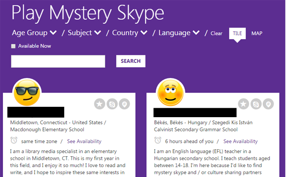 how to find someones location with skype