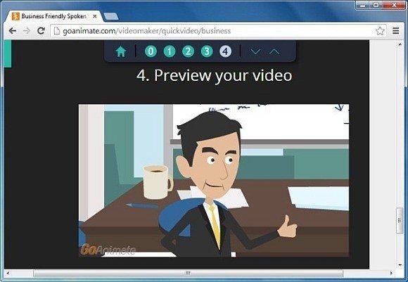 Go Animate web app