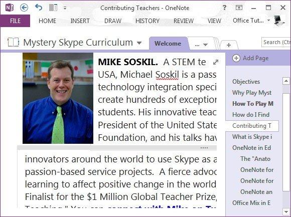 Mystery Skype curriculum