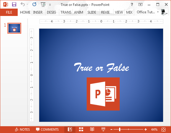 Powerpoint is boring myth