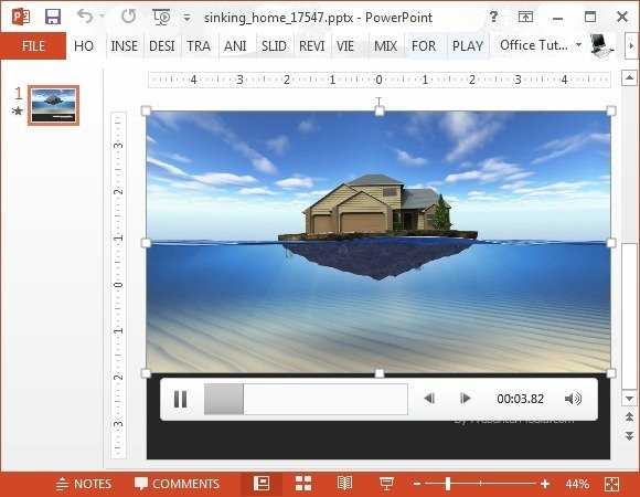 Presenter media animated templates for PowerPoint