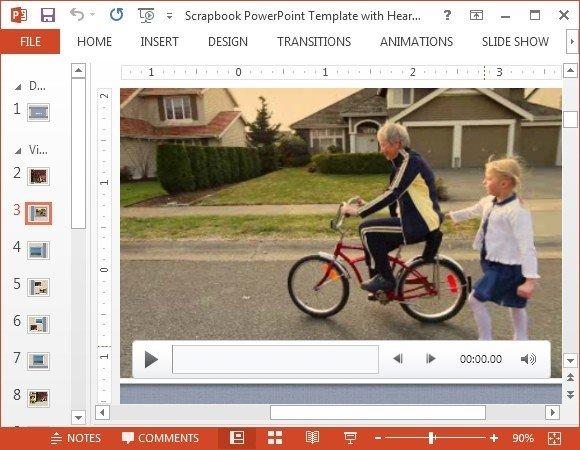 Sample scrapbook video