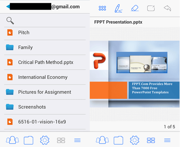 Present PowerPoint presentations with MightyMeeting