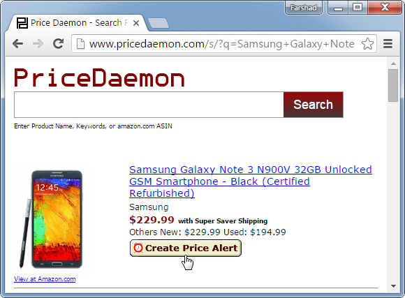 PriceDaemon