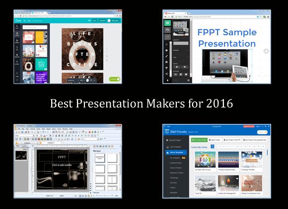 Best Presentation Makers For 2016