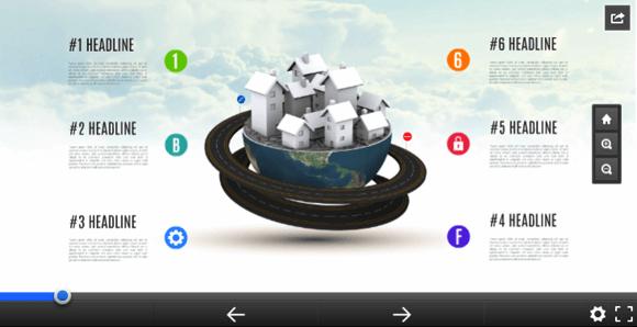 Global village Prezi template