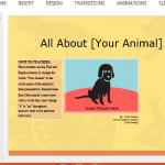 animal-report-presentation-template-for-students-and-teachers