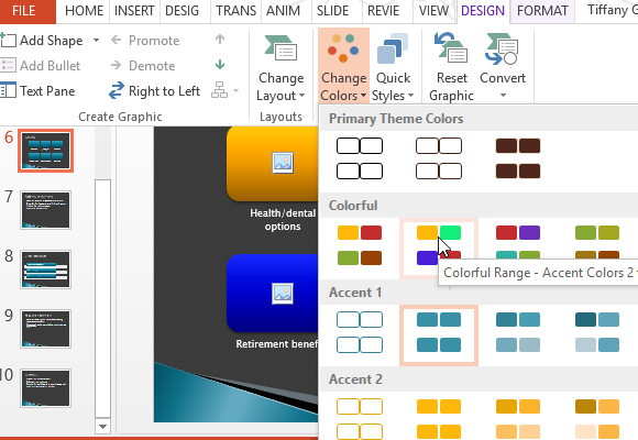 customize-the-template-diagrams-charts-using-different-designs