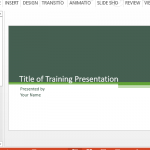 Animated Emergency Response Training PowerPoint Template - FPPT
