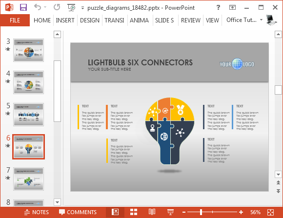 Business diagrams for PowerPoint