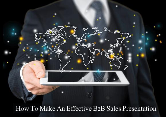 Effective B2B sales presentation