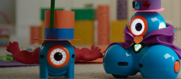 Wonder workshop robots for kids