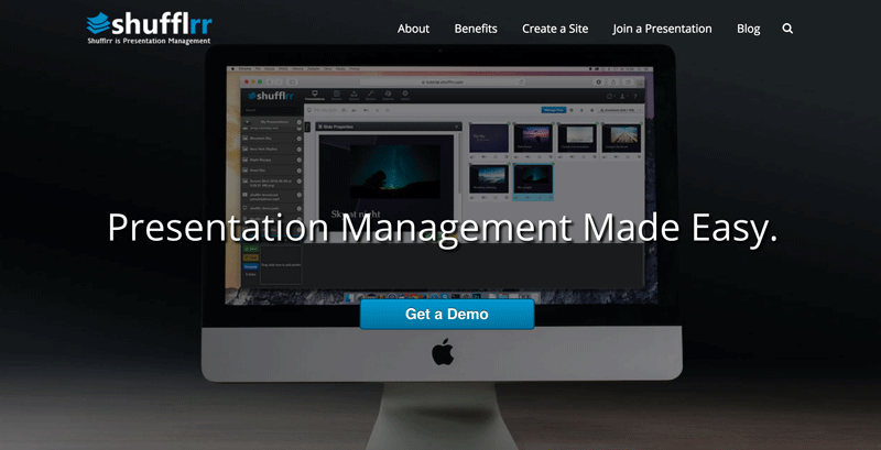 Presentation Management tools