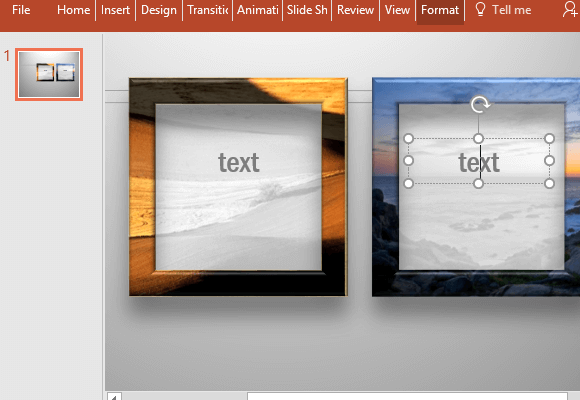 Insert-text-inside-the-picture-frame