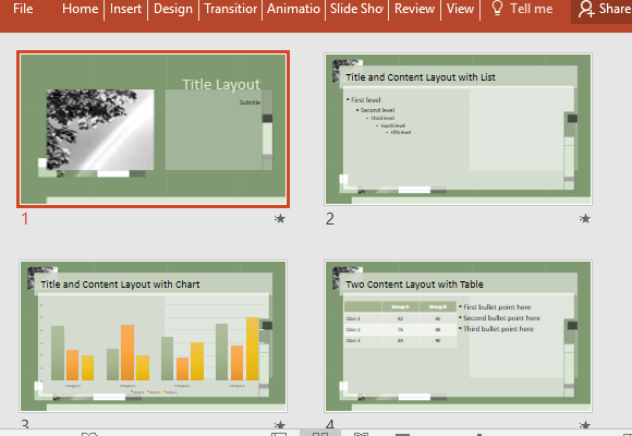 use-various-layout-options-to-present-your-data