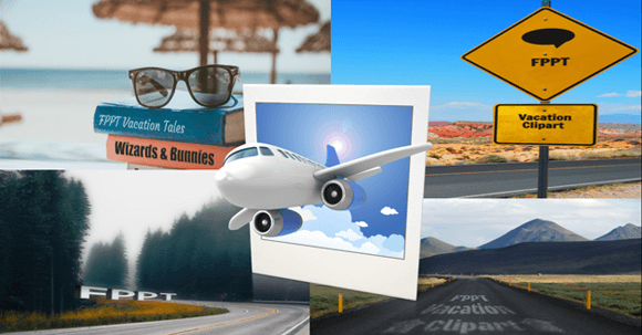 Best vacation clipart for PowerPoint