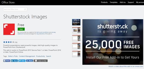 Shutterstock add in for powerpoint presentations install shutterstock addin toneelgroepblik Images