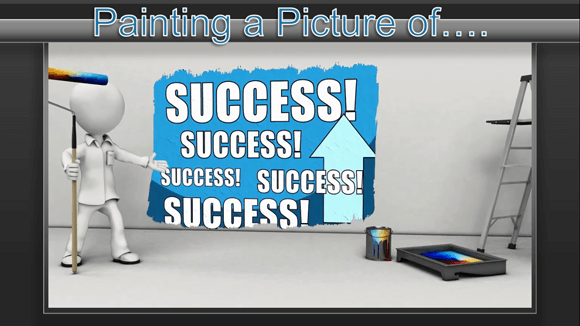 Painting picture of success