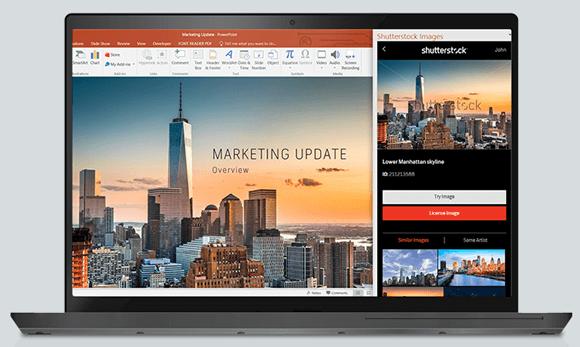 Shutterstock add-in for PowerPoint