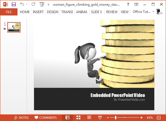 Woman figure climbing gold money stack