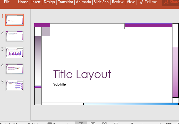 Vertical horizontal lines abstract powerpoint template for Horizontal menu templates free download