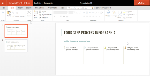process infographic template for powerpoint online