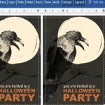 halloween-party-invitation-postcard-for-word