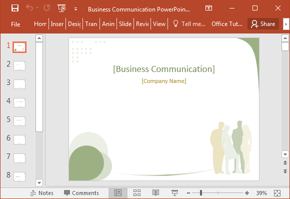 Business communication powerpoint template free business communication powerpoint template wajeb Choice Image