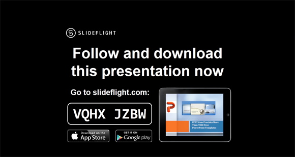Share slides using SlightFlight code