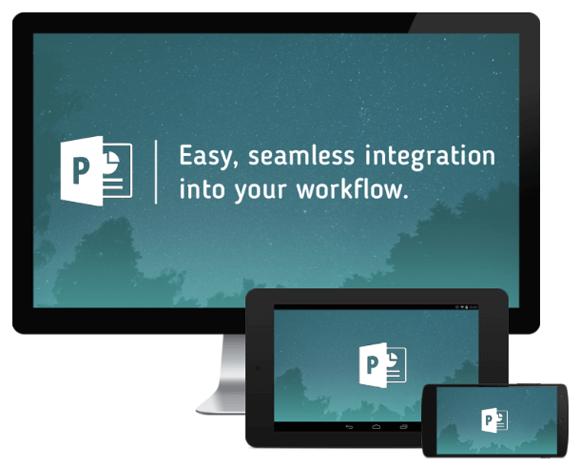 SlideFlight add-in for sharing PowerPoint digital handouts