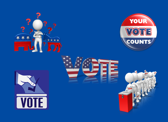 US election clipart images