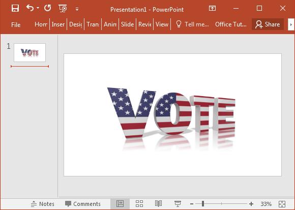 Vote America clipart