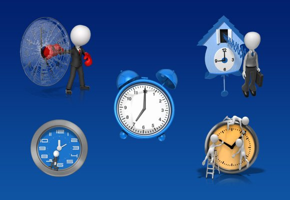 Best clock clipart and animations