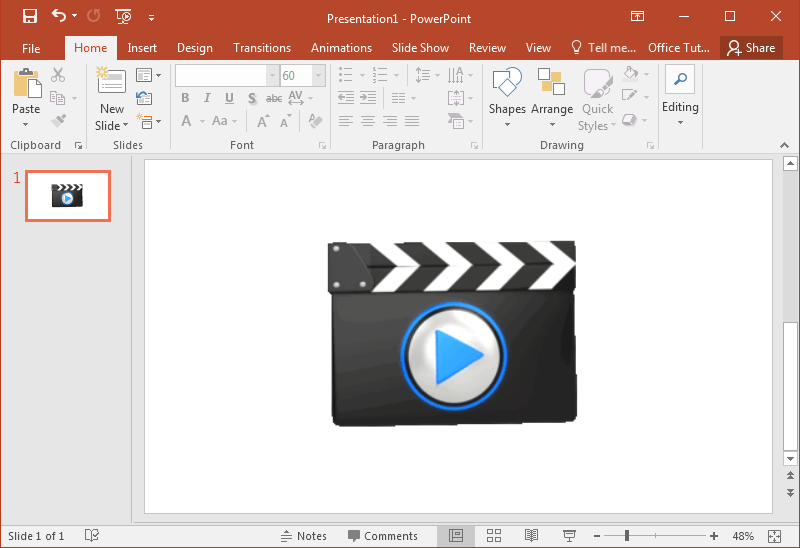animated clapboard powerpoint templates, Powerpoint templates