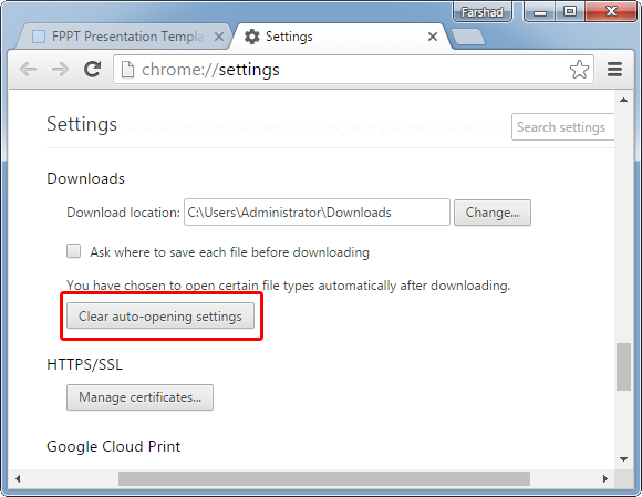 clear-auto-opening-settings