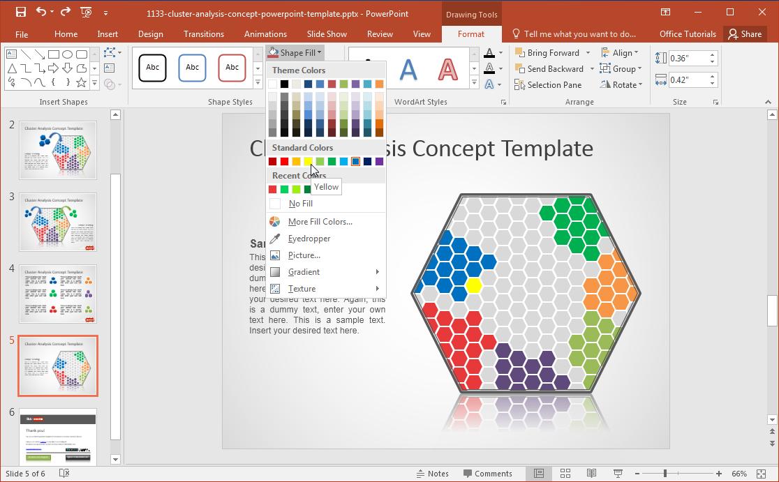 free-cluster-analysis-slide-design