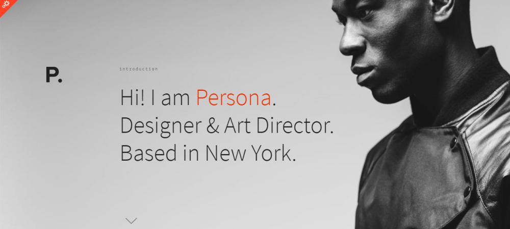persona-html5-resume-template