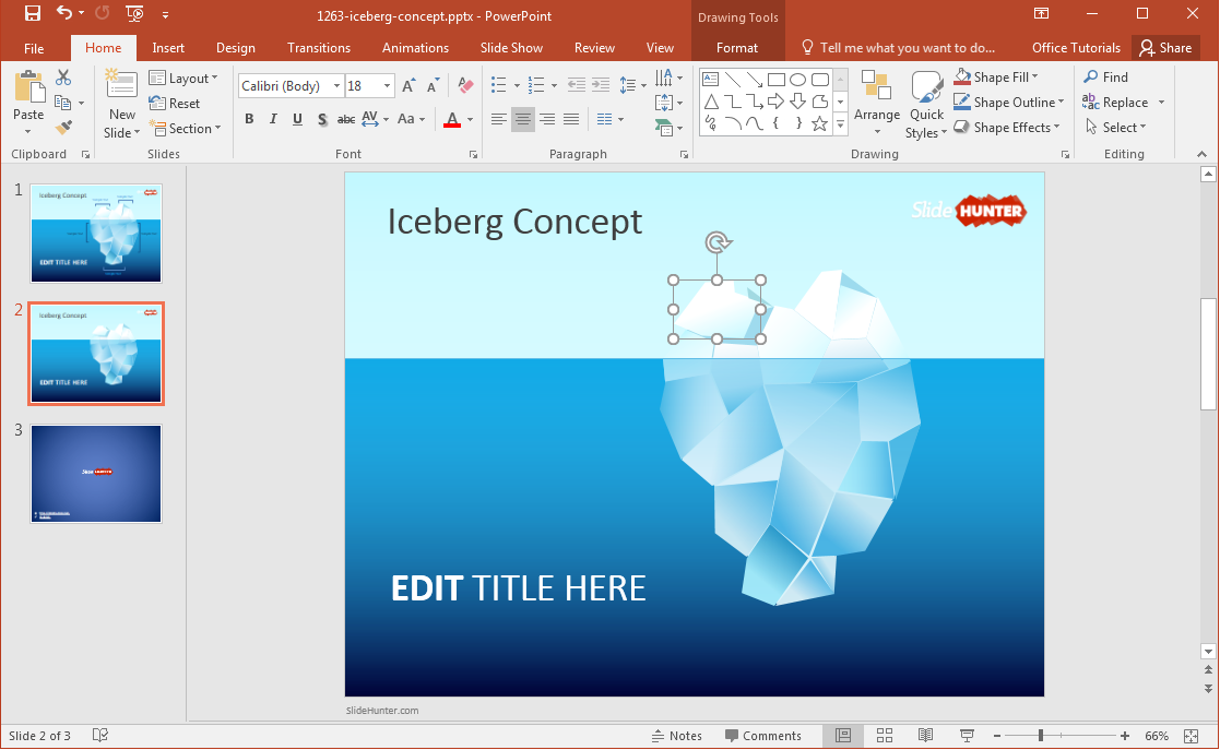 tip-of-the-iceberg-editable-powerpoint-diagram