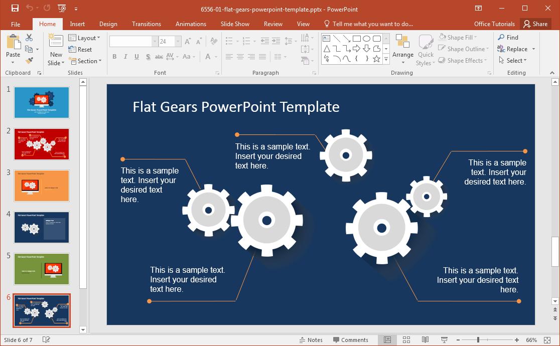 flat-gears-slide-design