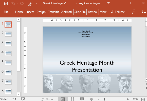 greek-heritage-month-powerpoint-template