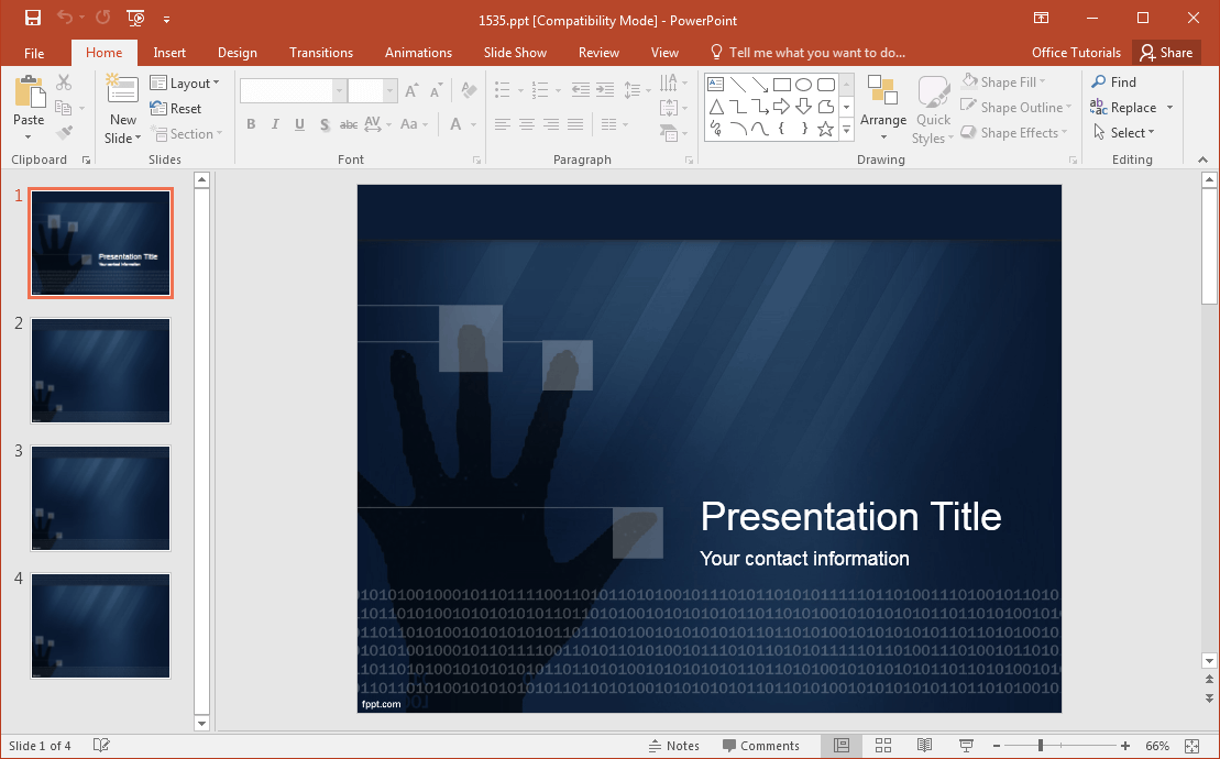 Best cyber security backgrounds for presentations free cyber security powerpoint template maxwellsz
