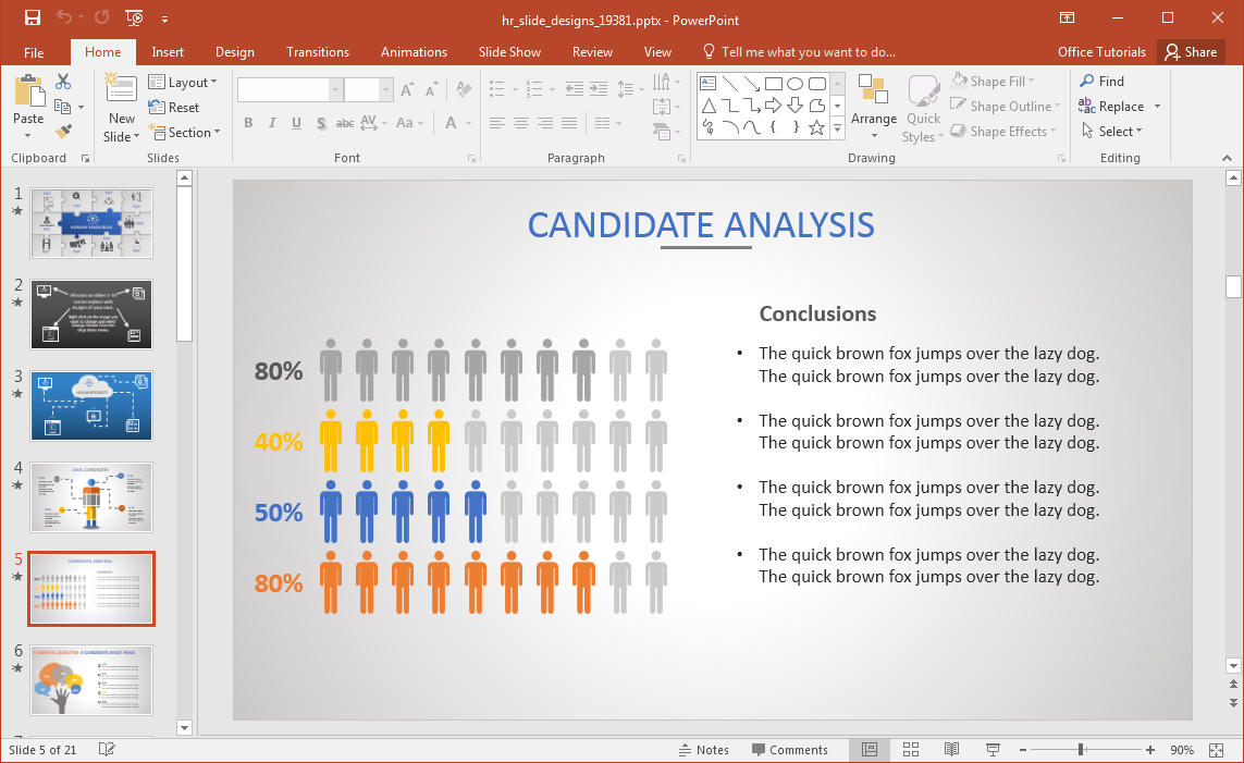 Animated hr powerpoint template hr chart pooptronica Choice Image