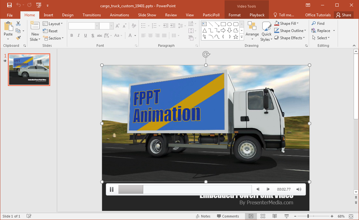 animated-cargo-truck-powerpoint-template