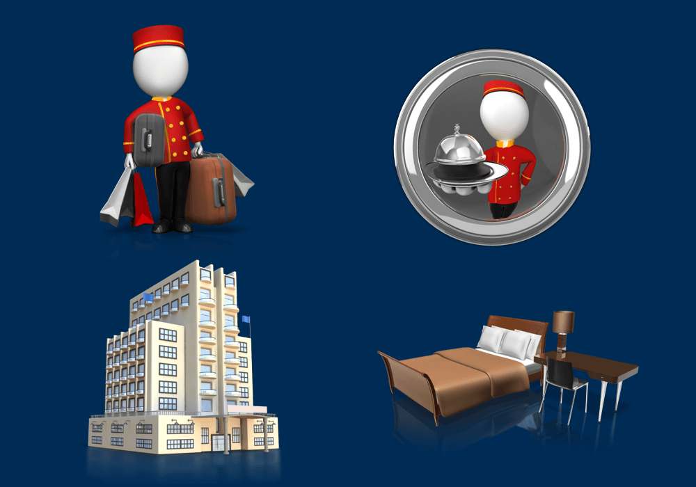 Hotel Clipart For PowerPoint Presentations
