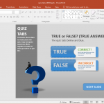 Quiz templates create a quiz in powerpoint with quiz tabs powerpoint template maxwellsz