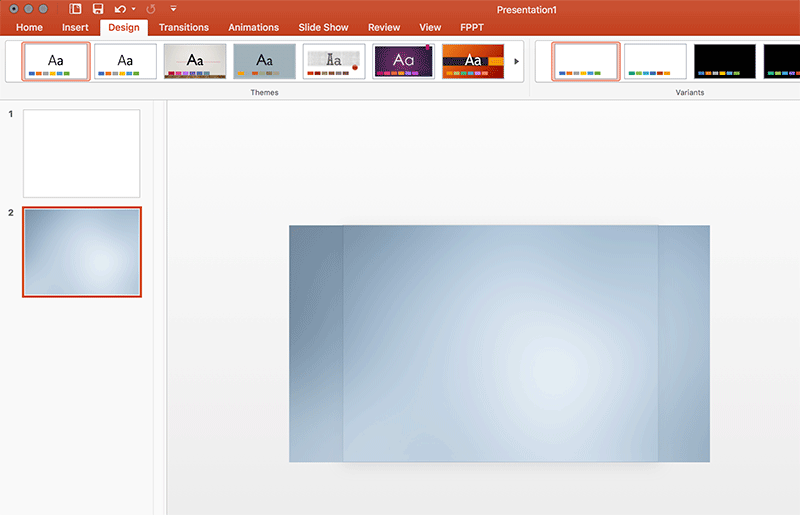 Fit background image in PowerPoint 16x9