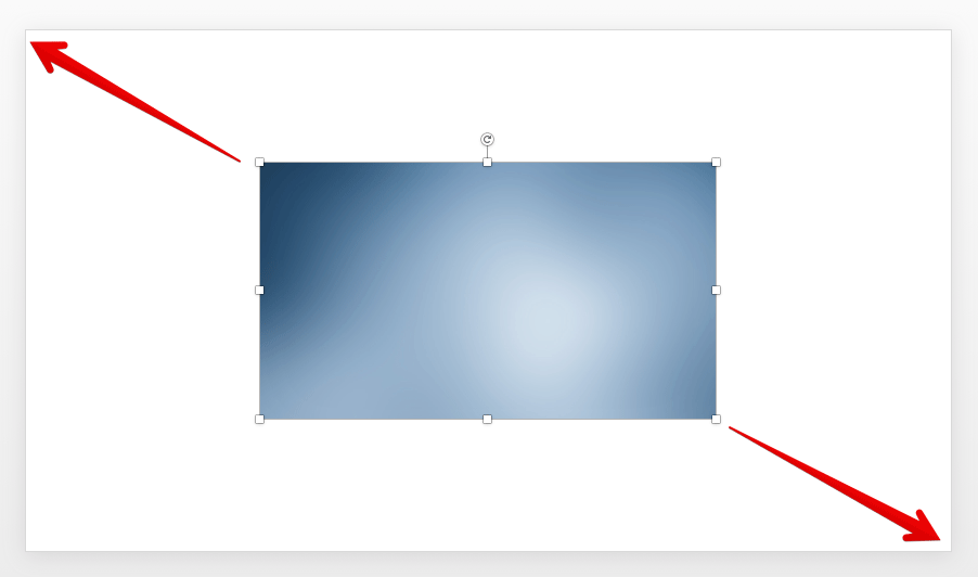 Make a Full Screen Image in PowerPoint Presentation