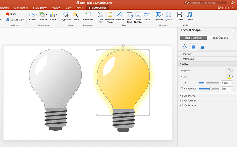 how to draw a light bulb in powerpoint rh free power point templates com PowerPoint Layout PowerPoint Storyboard
