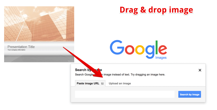 how to add image to google search